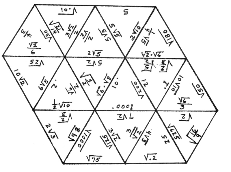 triangles geometry worksheets