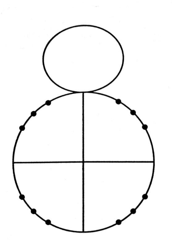 Radian the snowman you are to label the sixteen points on the unit circle with the radian measure inside the circle and the coordinates of pronofoot35fo Image collections